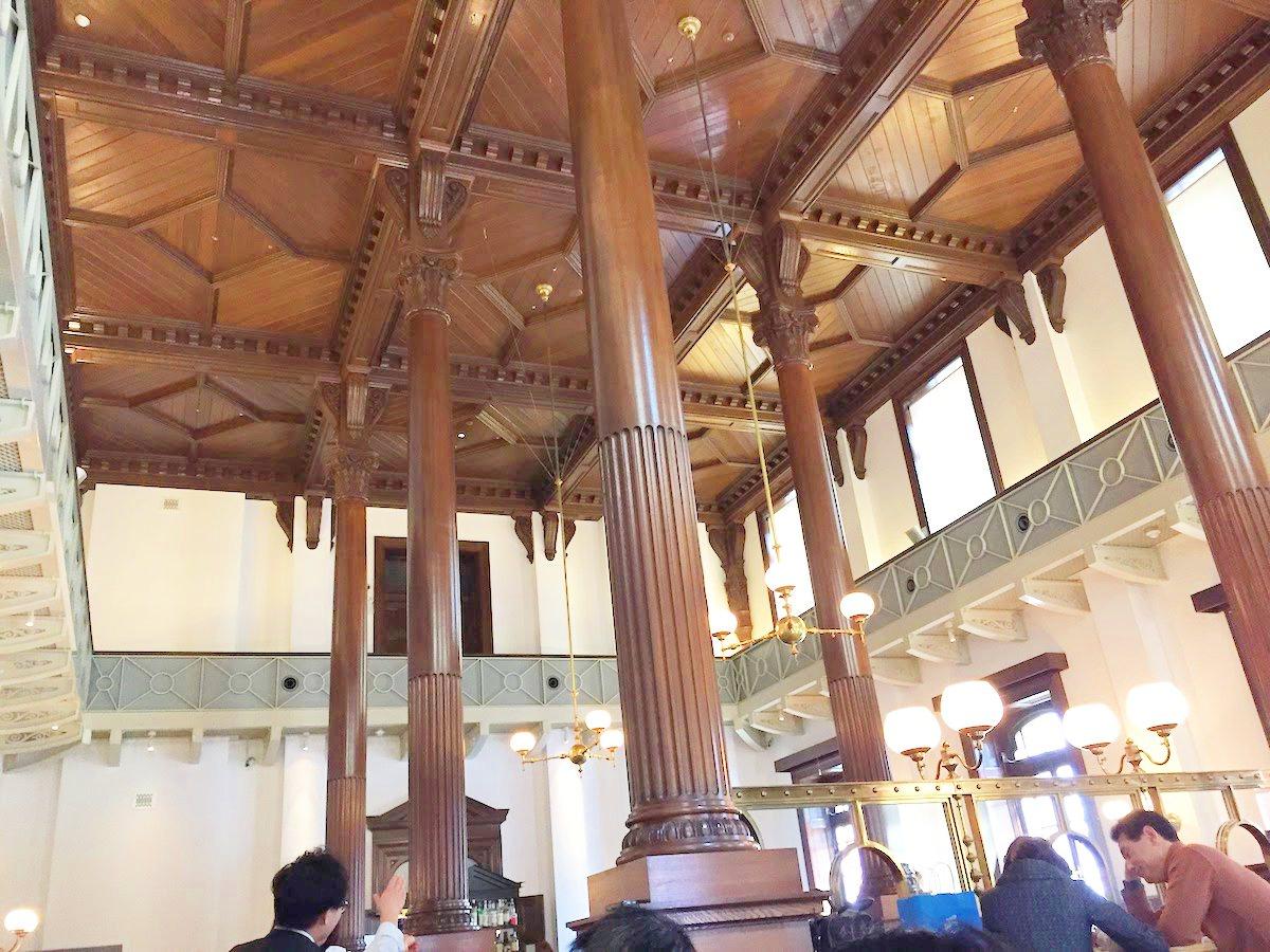 CAFE1894の天井