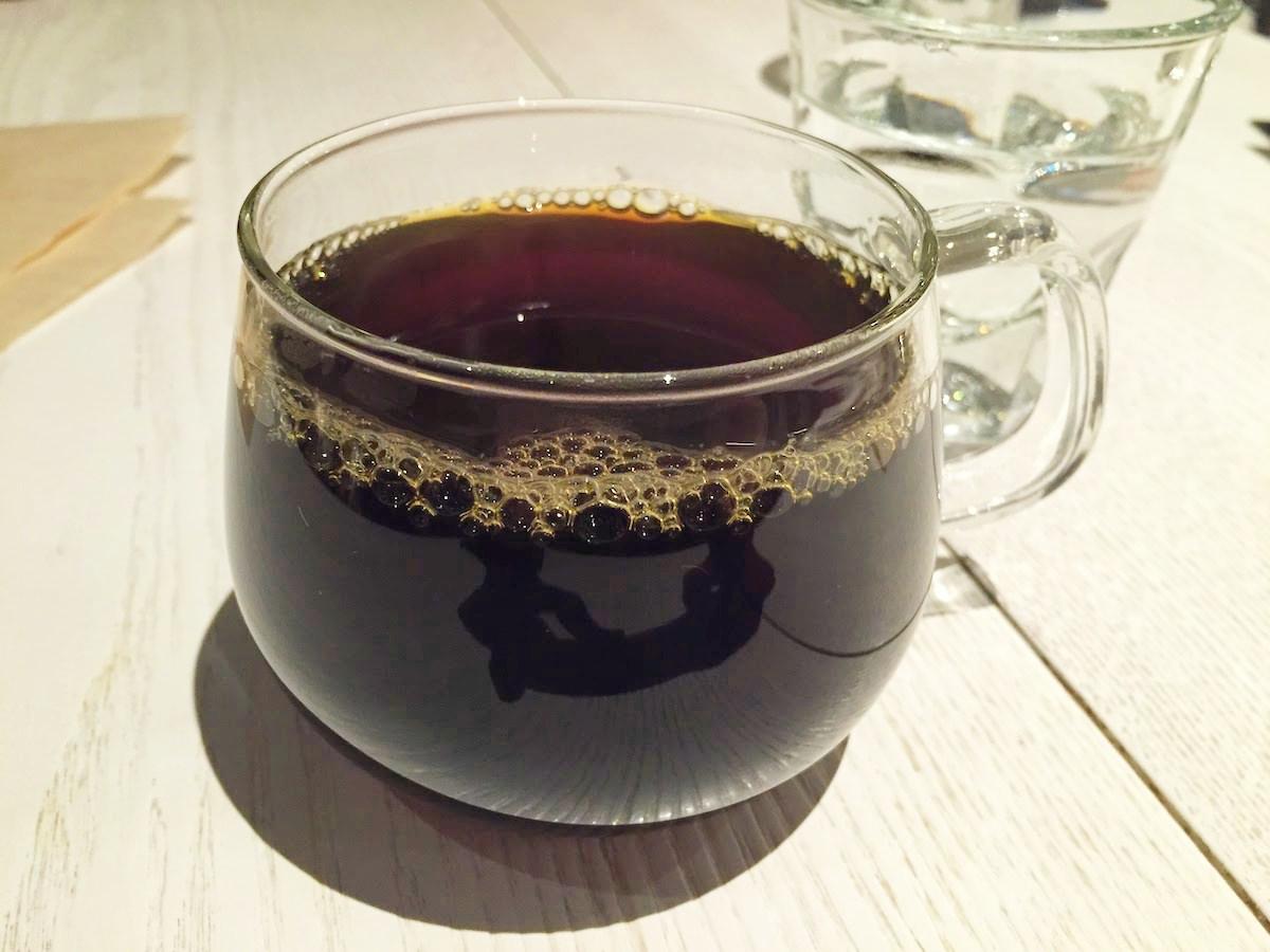 ブルーボトル青山のコーヒー