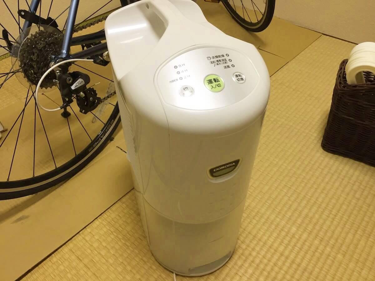 乾燥除湿機の写真