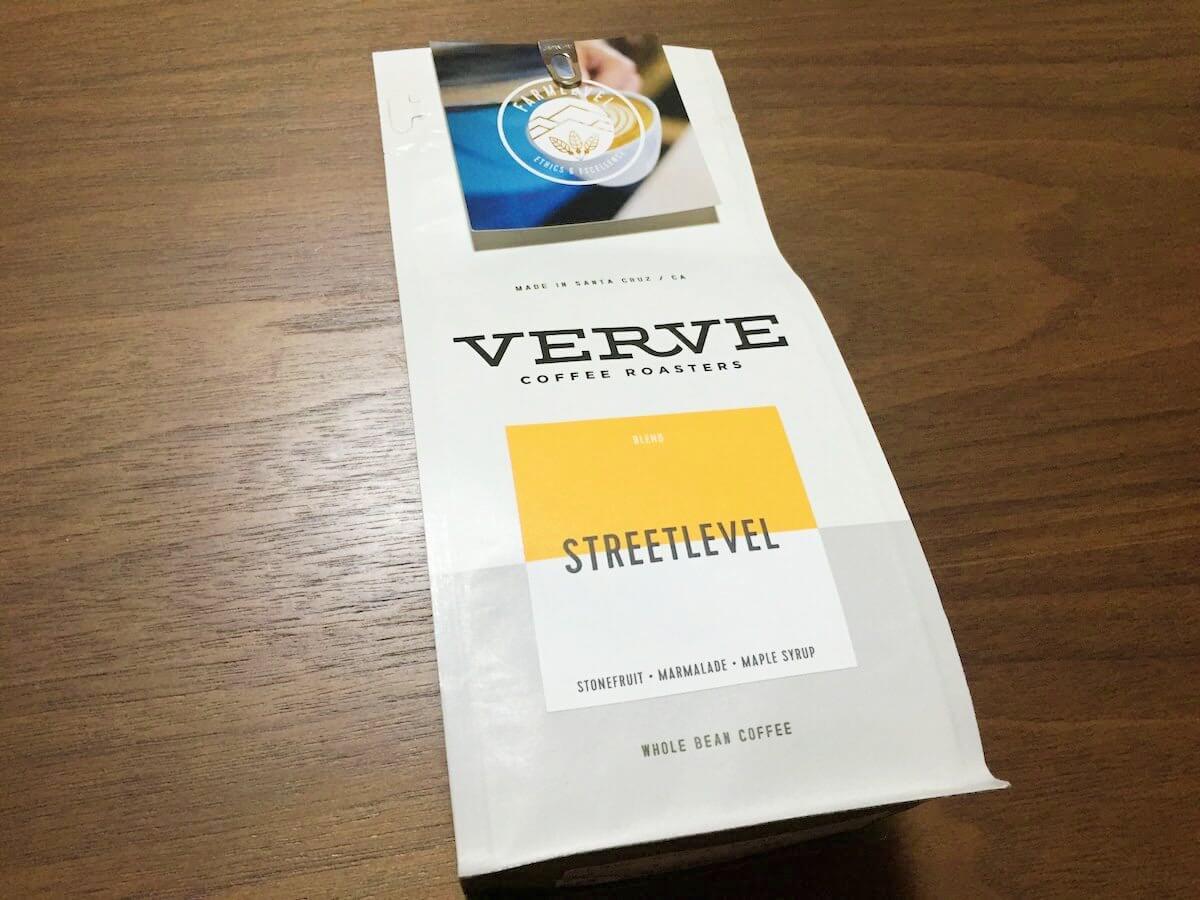 VERVEコーヒーのストリートレベル