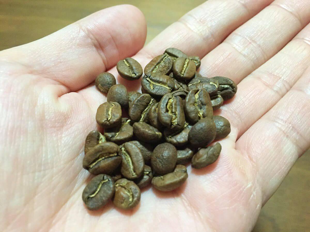 ストリートレベルのコーヒー豆