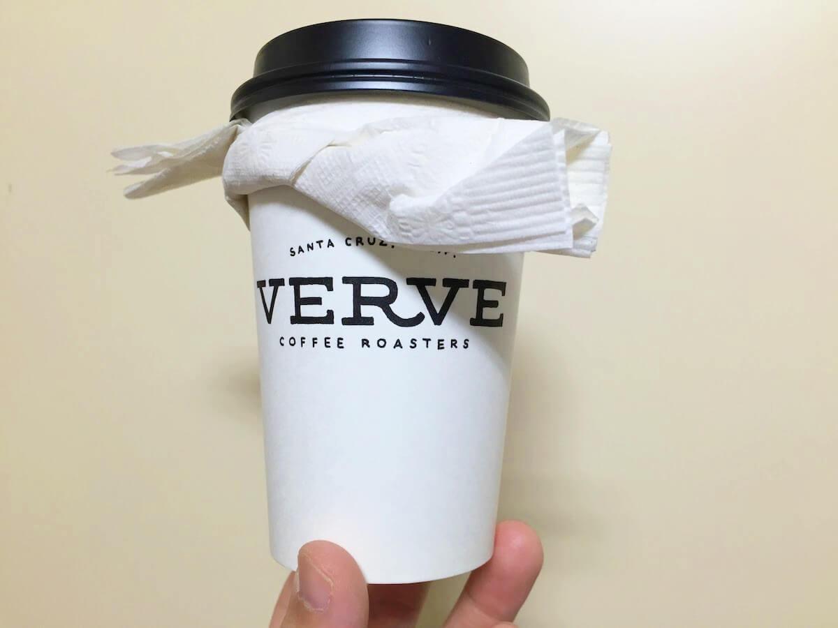 VERVEコーヒーのはちまき