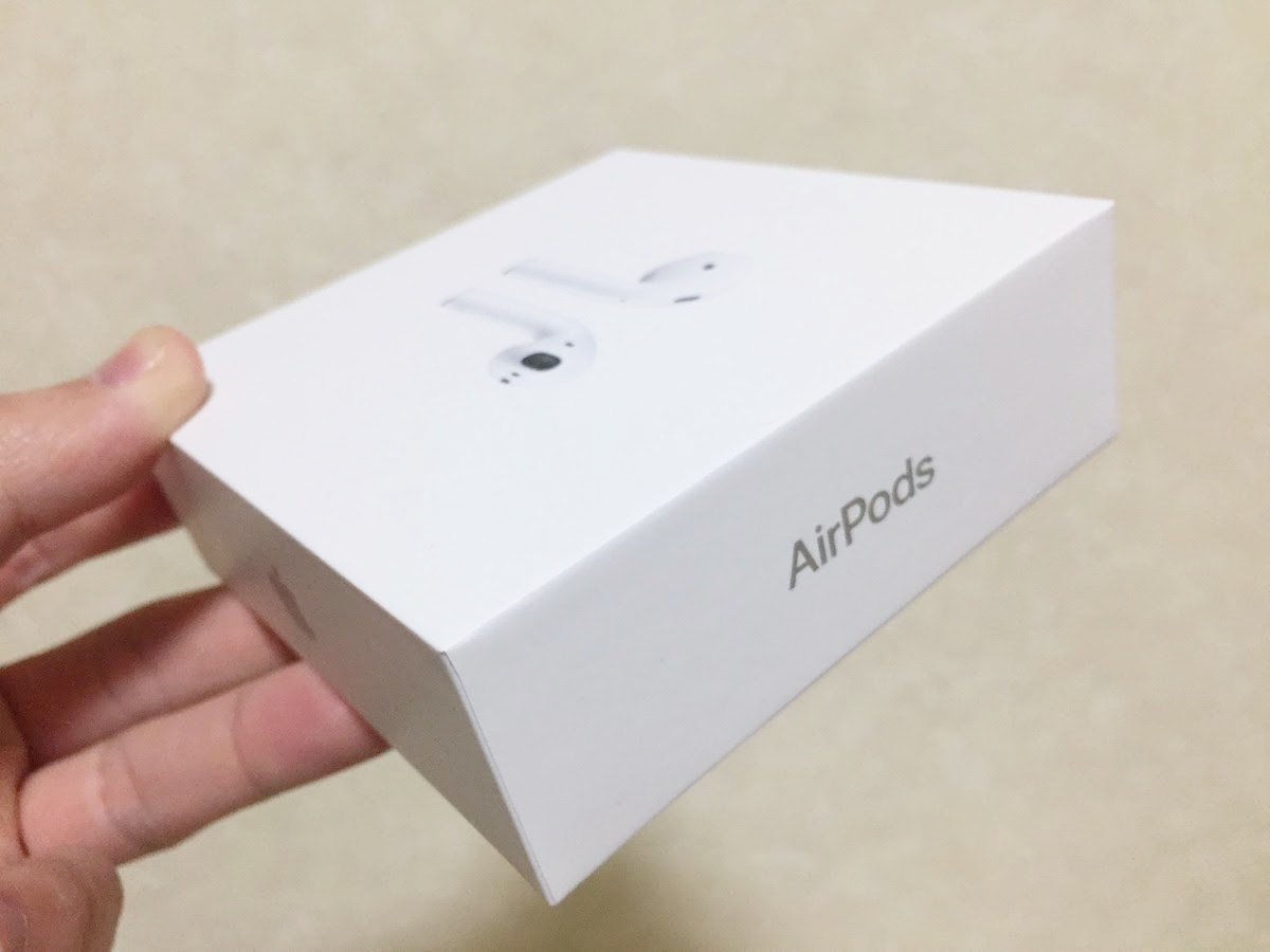 airpodsの写真