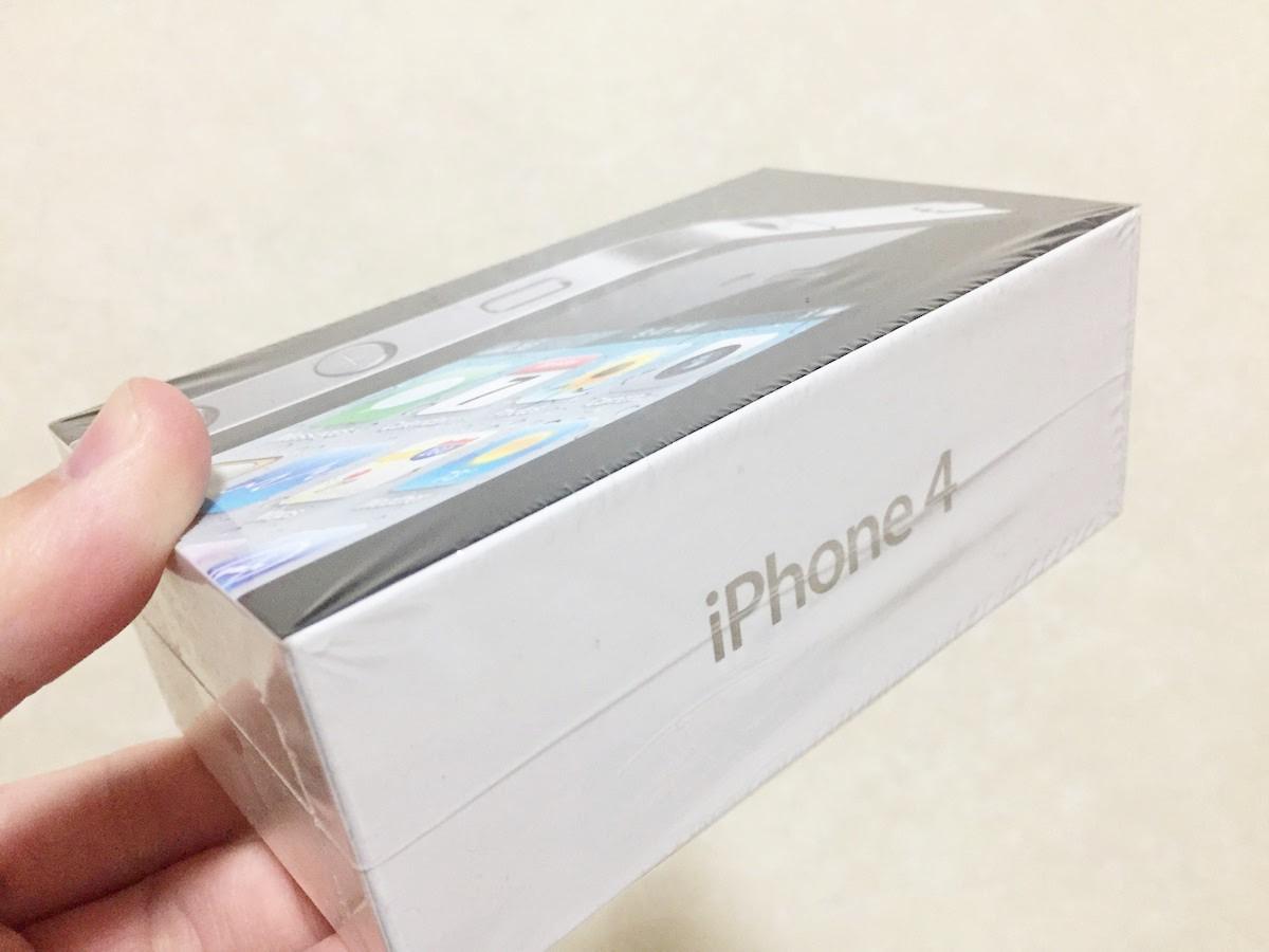 iphone4の箱の写真