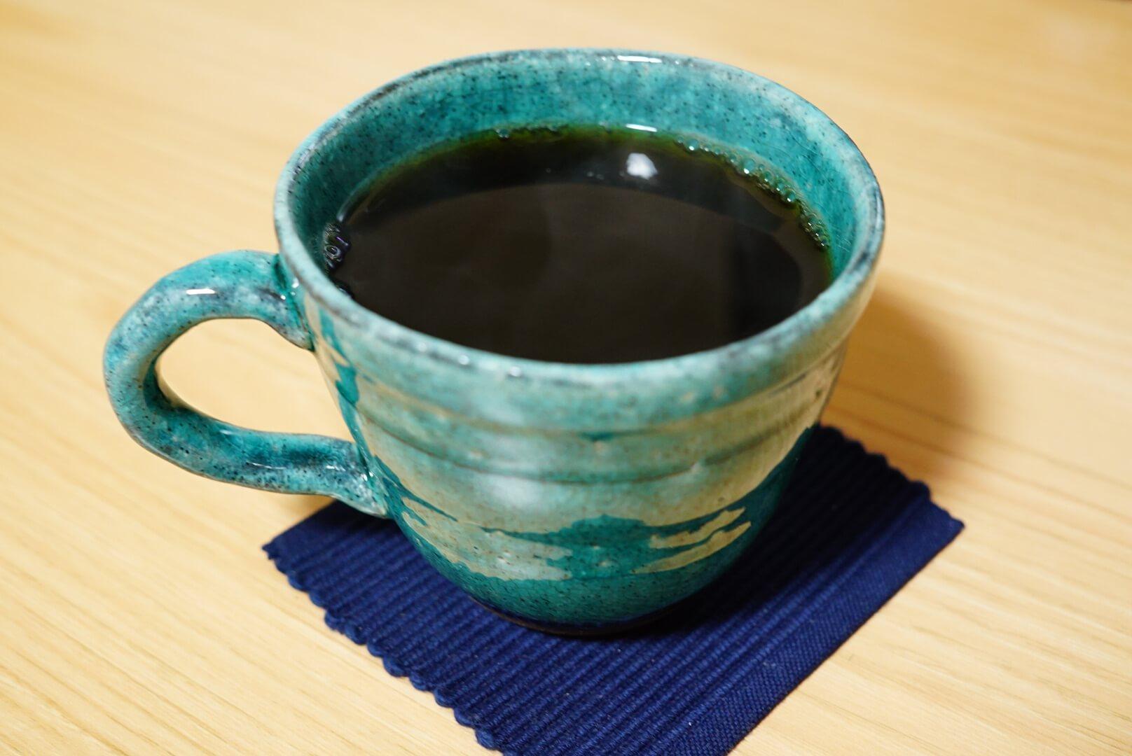 抽出後のコーヒー
