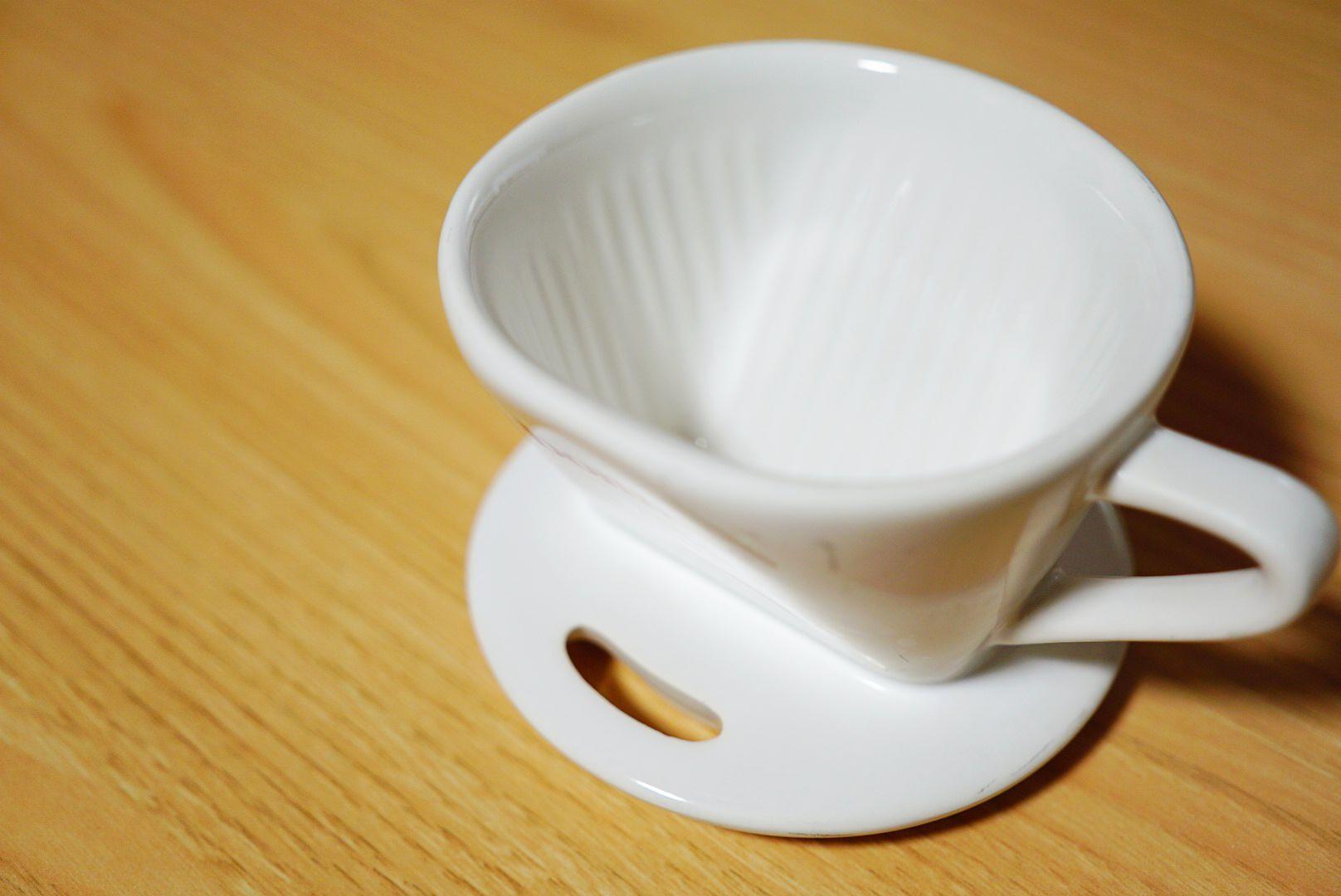 陶器の1つ穴ドリッパー