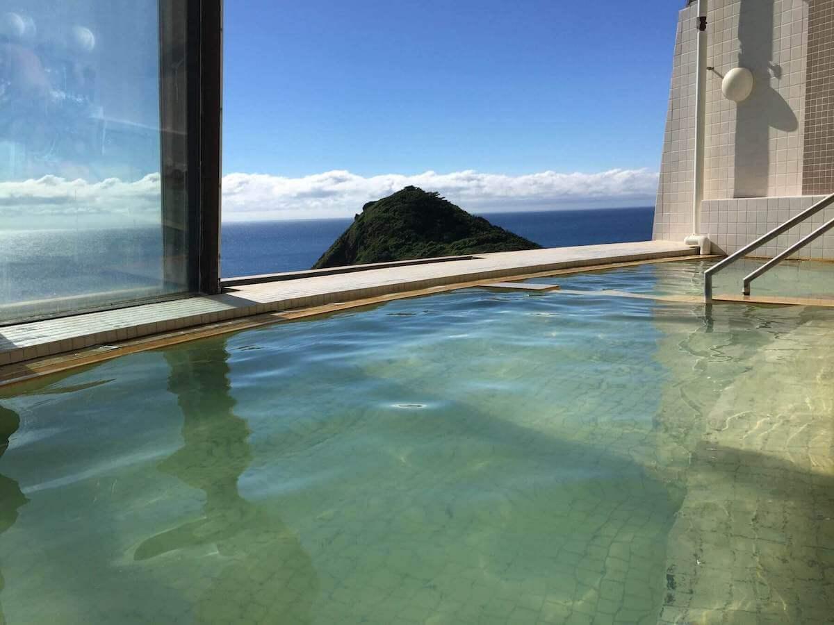 ウェスパ椿山の展望温泉