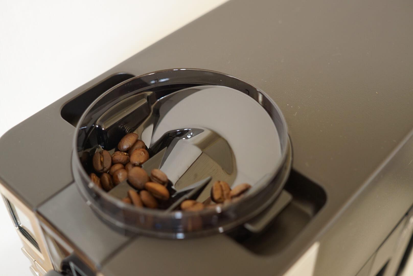 無印のコーヒーメーカーで残ったコーヒー豆
