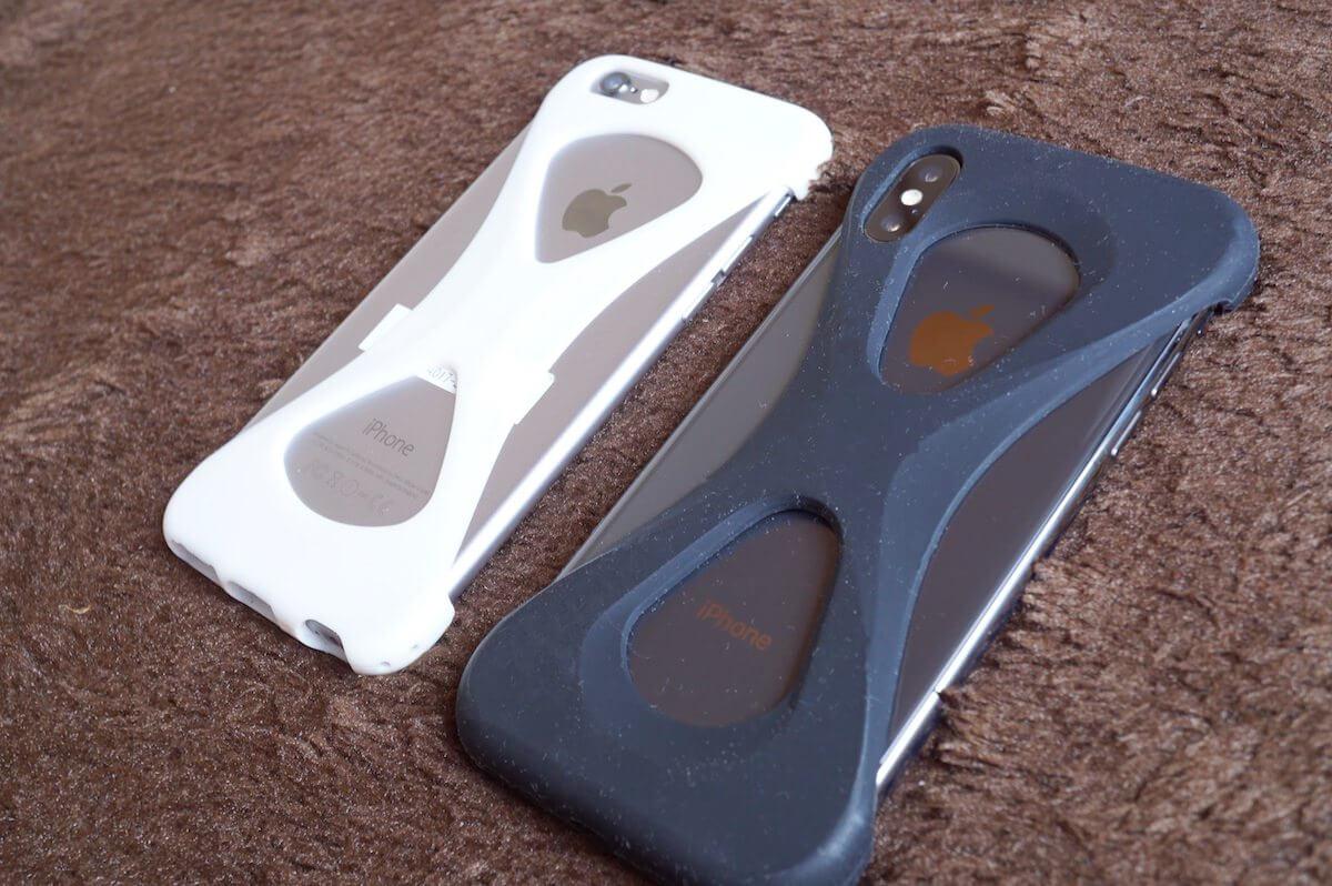 iphoneXとiphone6