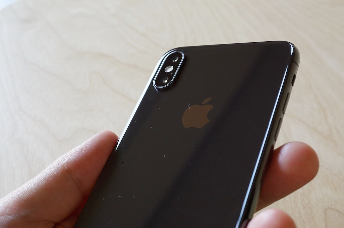 iphonexの裏面