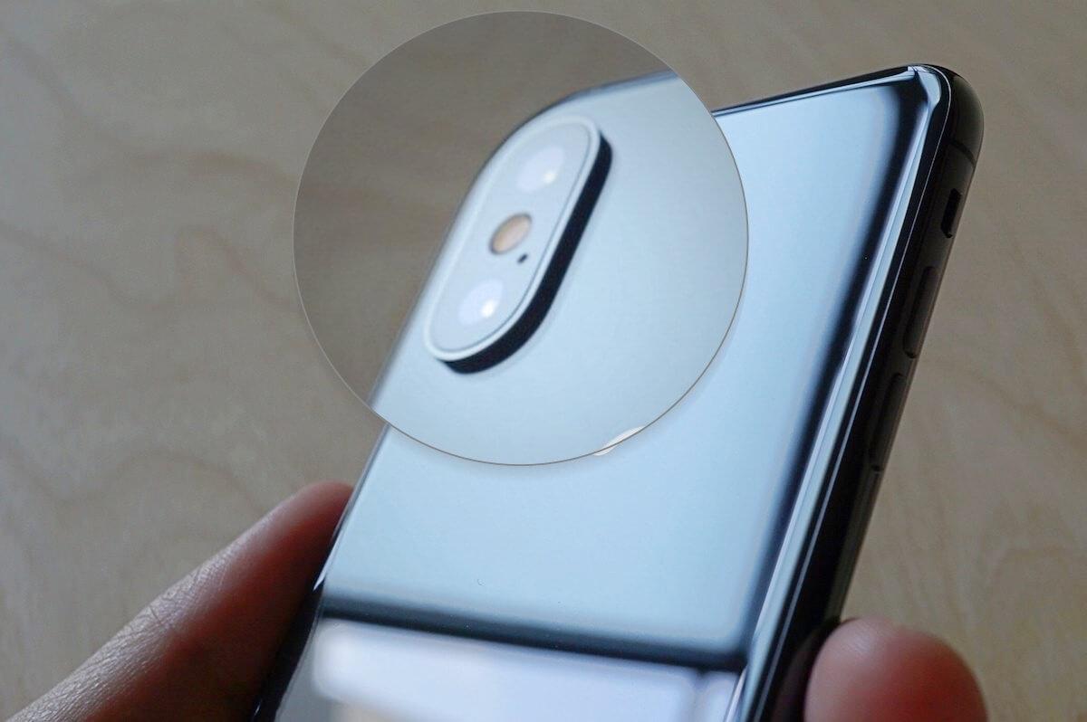 iphoneXのカメラ