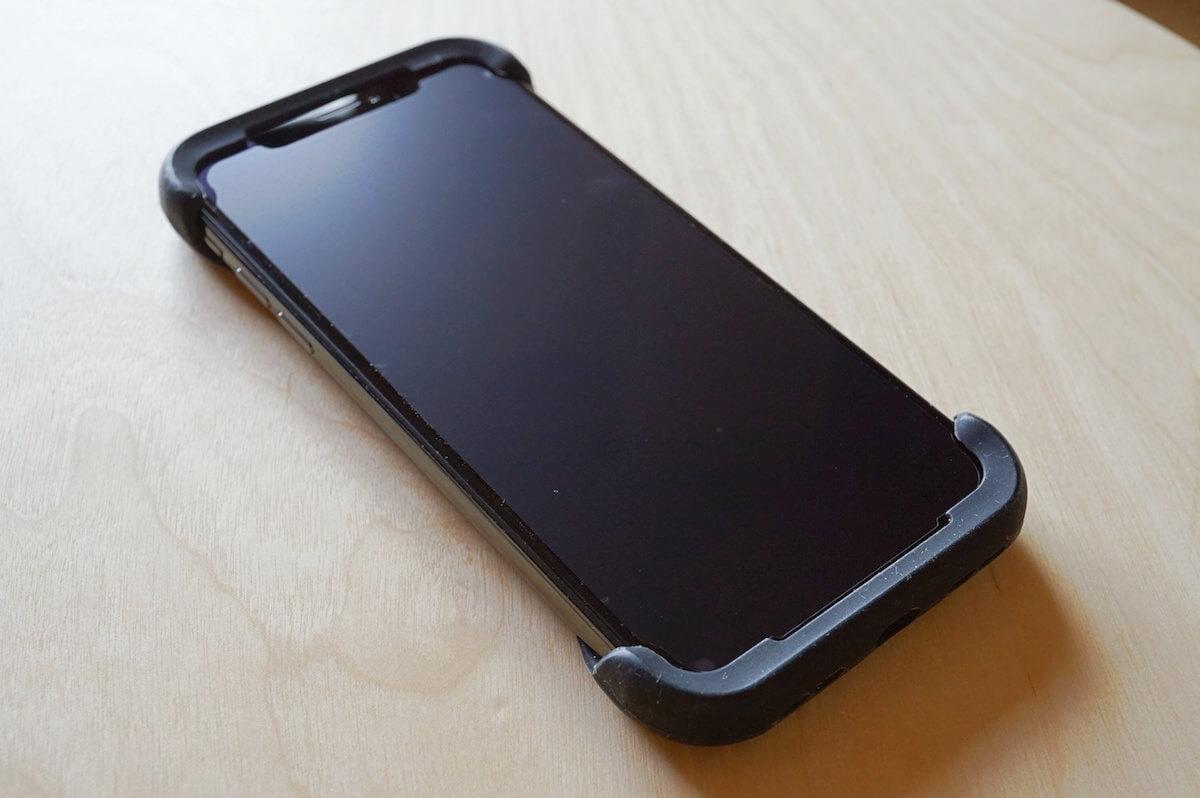 iphonexにpalmoを装着