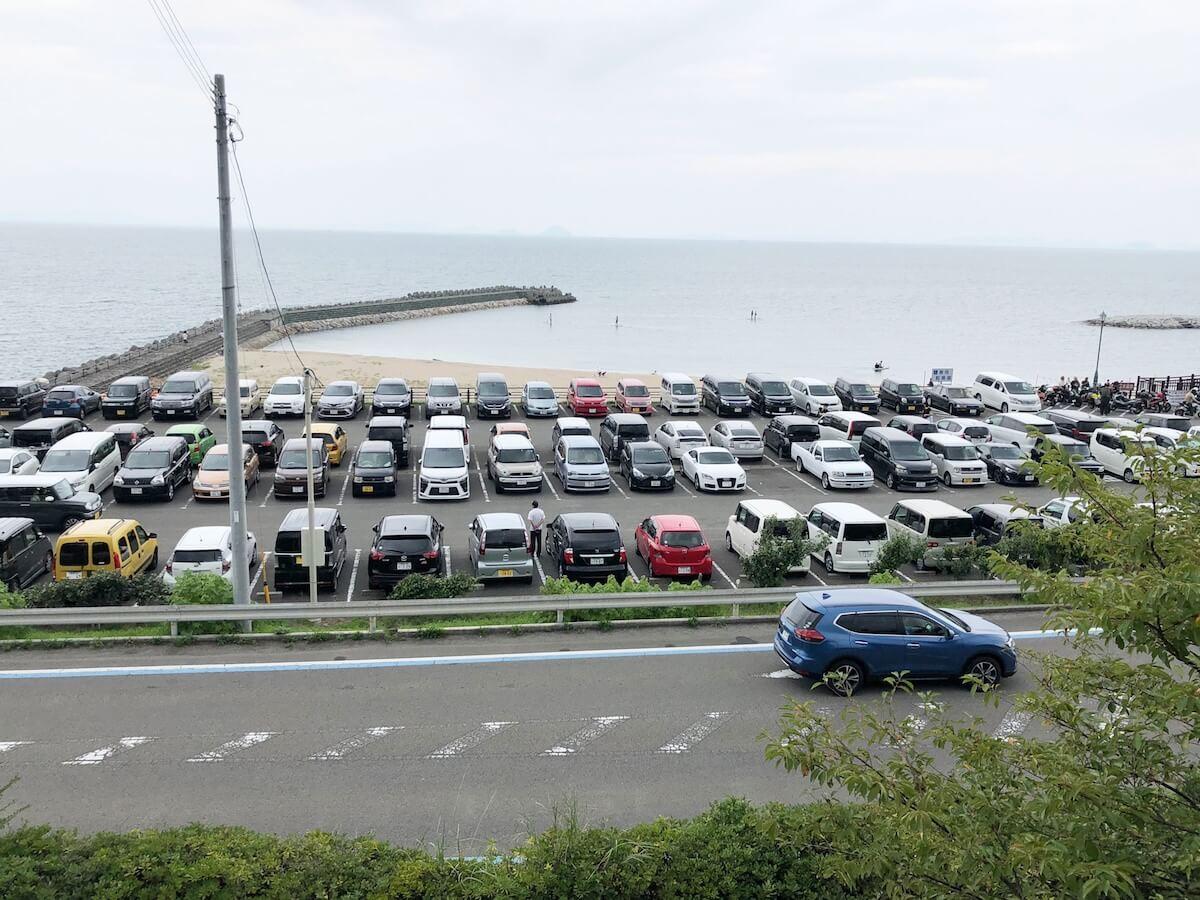 双海の渋滞