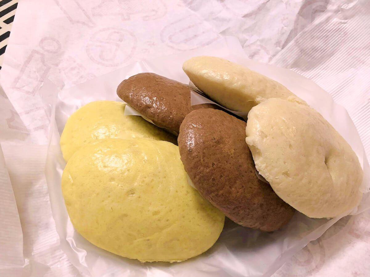 労研饅頭のココア