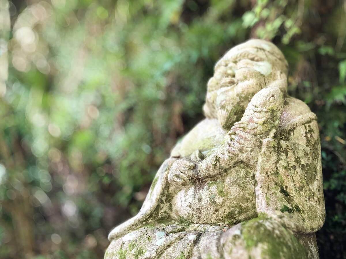 中津渓谷の七福神