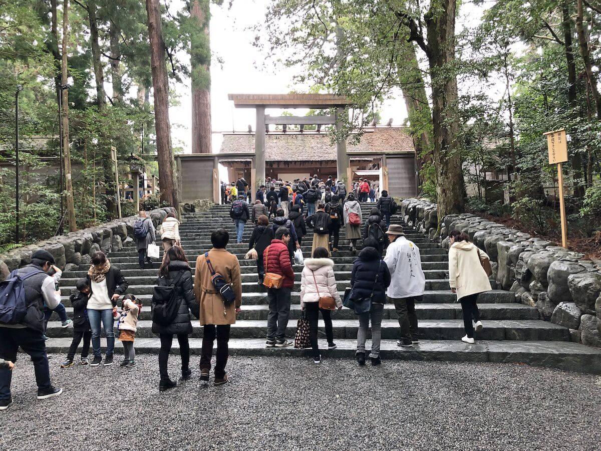 伊勢神宮の内宮の写真