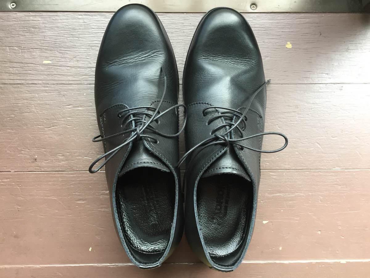 パドローネの革靴