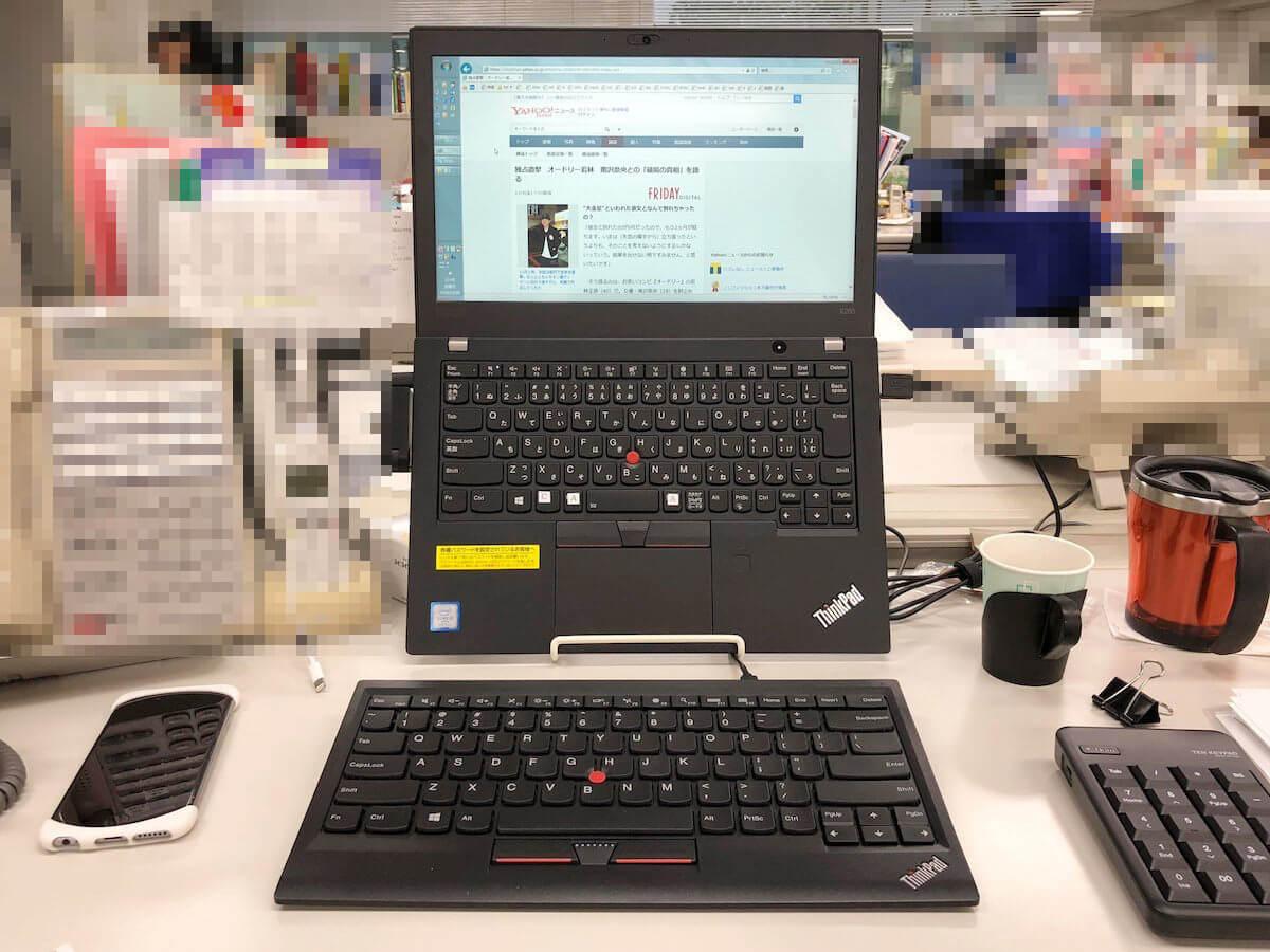 thinkpadの外付けキーボード