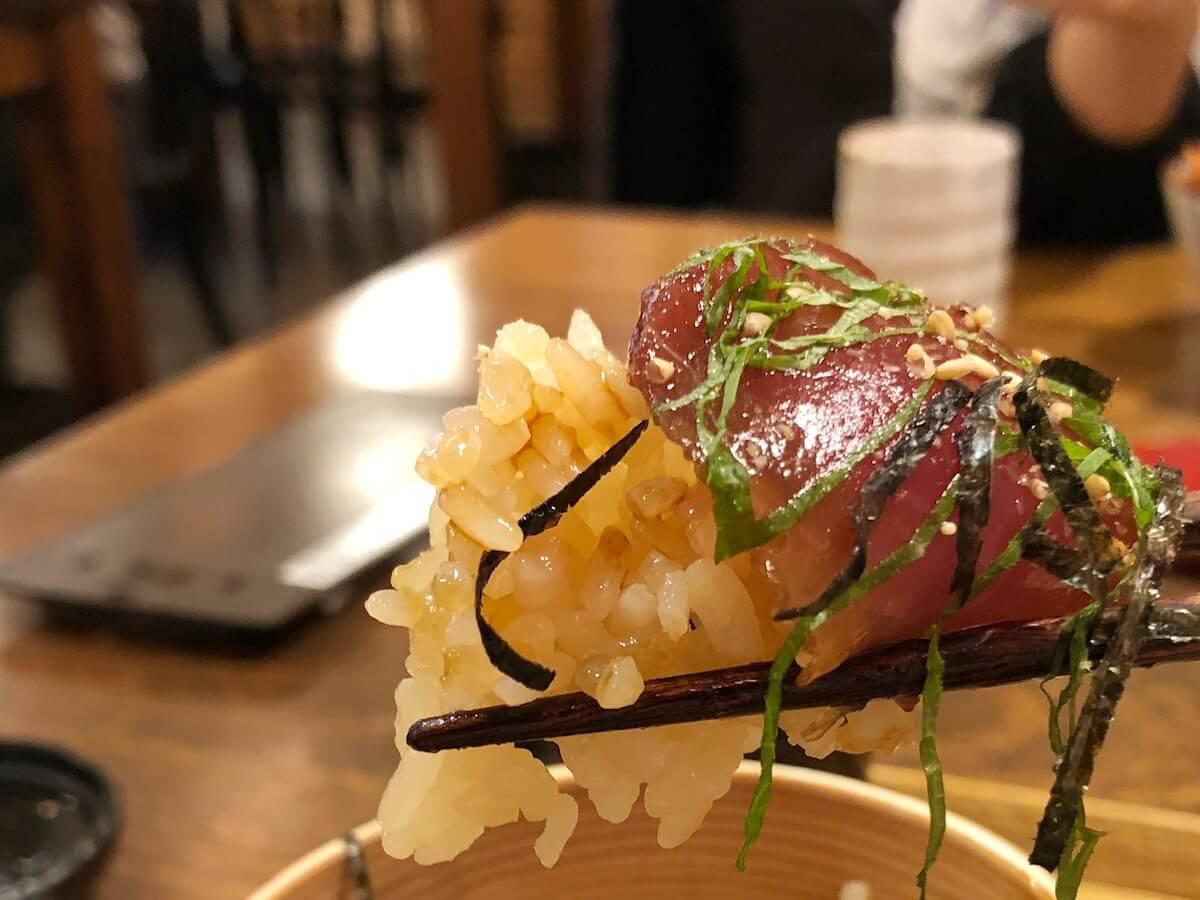 手こね寿司