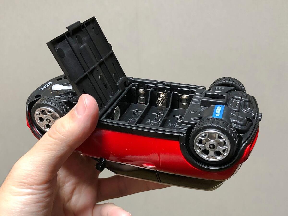 ラジコンの電池ケース