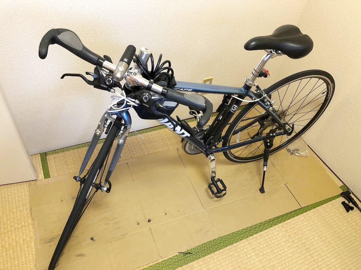 ジモティーに出品した自転車