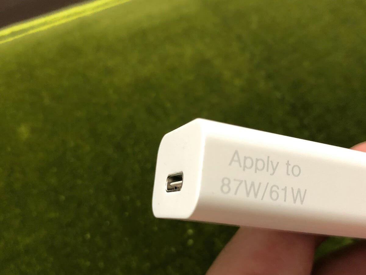 高い電圧が必要な変換アダプター
