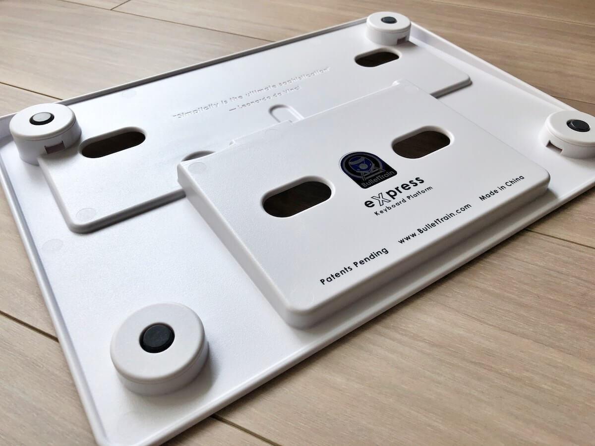 eXpress Keyboard Platformの裏面