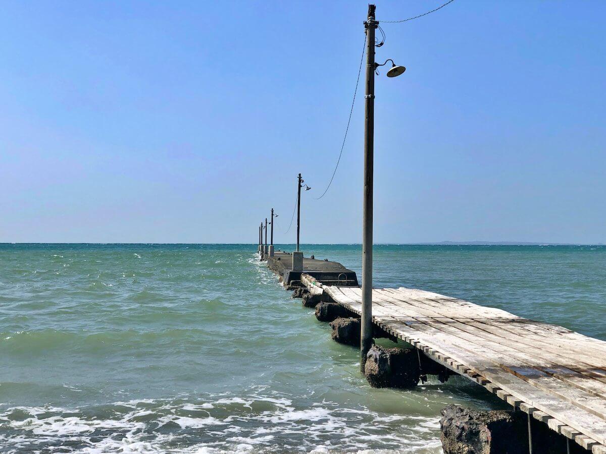 原岡桟橋の写真