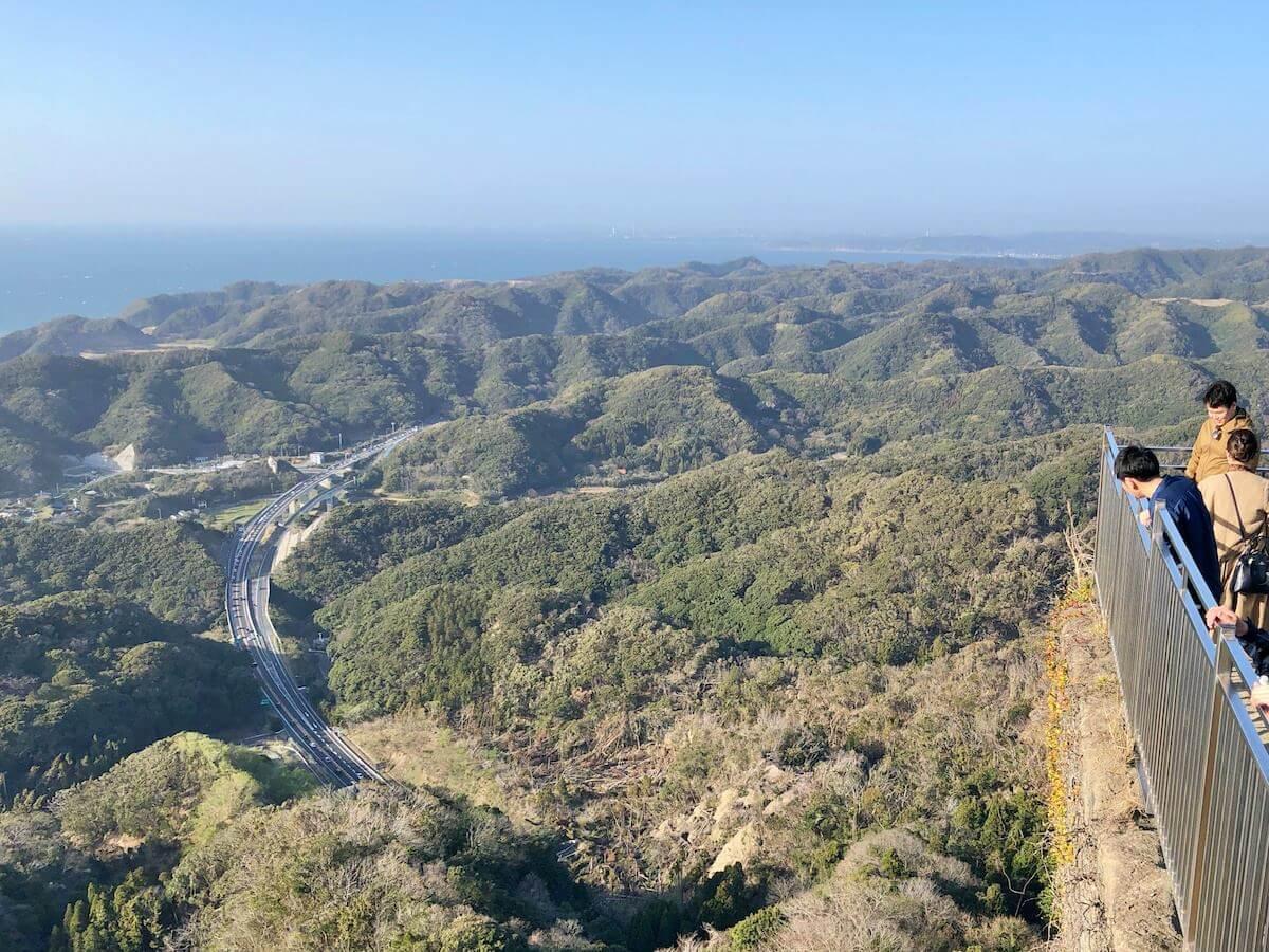 鋸山の絶景