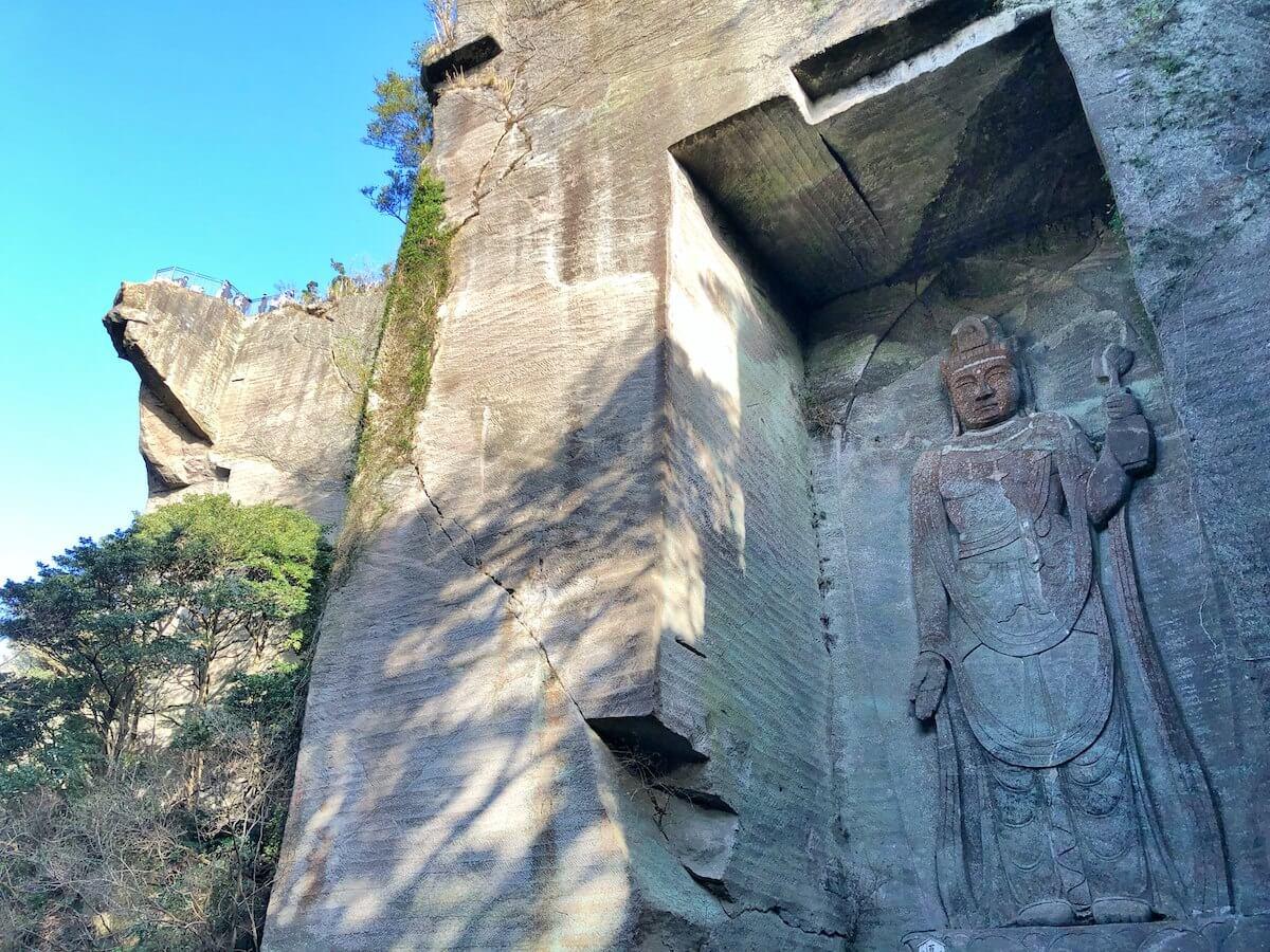 鋸山の石仏