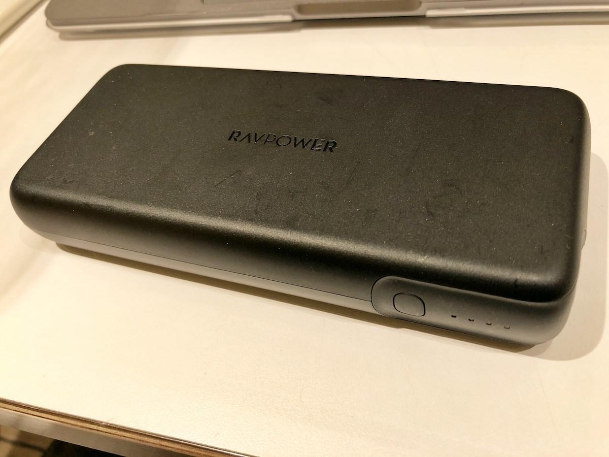 rav power 20000モバイルバッテリー